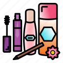 fashionbeauty, foundation, liquid, makeup, maskaraliner, perfume, set