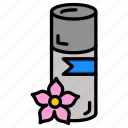 body, cosmetics, fragrance, makeup, perfume, scent, spray icon