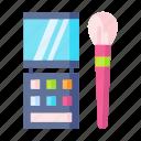 beauty, care, eyeshadow, fashion, health, salon icon