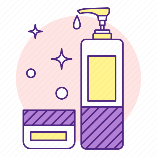 body, cosmetic, cosmetology, lotion, moisturizer, soap icon