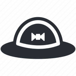 cowboy hat, floppy hat, hat, headgear, summer hat icon