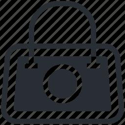 bag, hand bag, purse, shoulder bag, woman bag icon