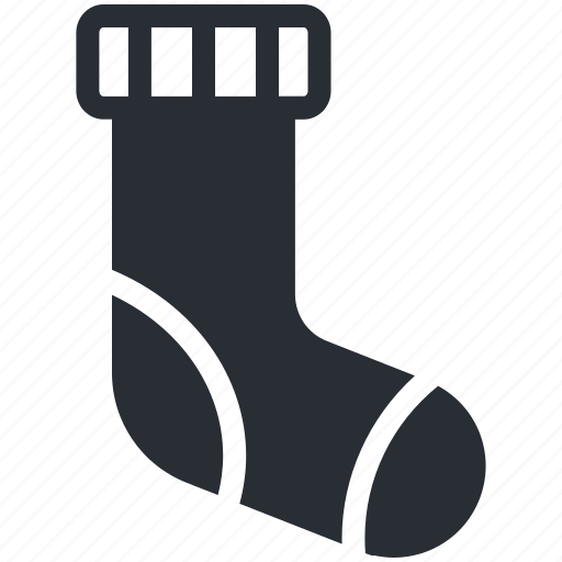 clothing, footwear, hosiery, socks, stocking icon