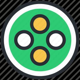 button, cloth button, round button, sewing accessories, shirt button icon