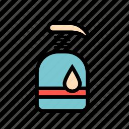 beauty, clean, liquid, soap icon