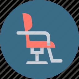 barber, chair, cutting, furniture, hair, hairdresser, salon icon