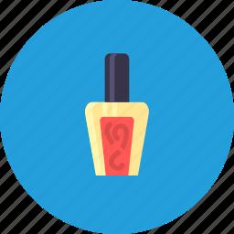 beauty, care, cosmetics, fashion, manicure, nail, polish icon