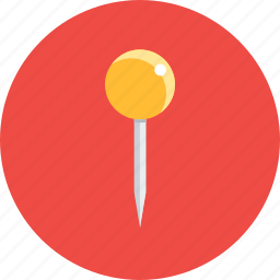 needle, pin, safety, sew, sewing, tailor, tailoring icon