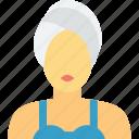 beauty care, beauty treatment, facial treatment, spa treatment, women icon