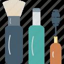 beauty, cosmetics, lip gloss, makeup, makeup brush icon