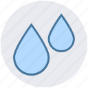 drops, nature, spa, water, water drops icon