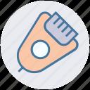 barbershop, bathroom, cosmetics, electric, grooming, shaver, spa salon icon