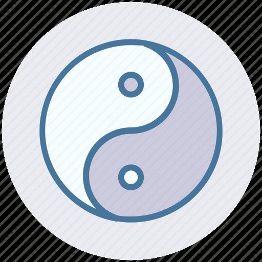 sign, spa, yin and yang, yin yang, ying yang icon