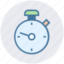 clock, optimization, stopwatch, time, timepiece, timer, watch icon