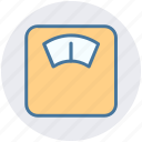 balance, losing, machine, weight, weight check, weight management, weight scale icon