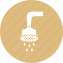 bath, bath sprinkler, shower, shower head, shower sprinkler icon
