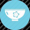 aromatherapy, pedicure bowl, spa accessory, spa bowl, spa treatment icon