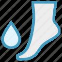 bathroom, drop, water drop, foot, spa, saloon