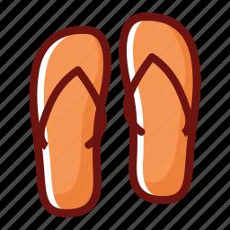 beauty clinic, feet, flip flop, foot, sendals, set, spa icon