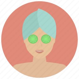 beauty, facial, relax, relaxation, spa, treatment, wellness icon