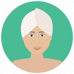 beauty, face, facial, hair, spa, treatment, wellness icon