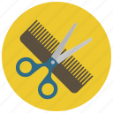 barber, beauty, cut, hair, hairdresser, scissors, wellness