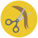 barber, beauty, coiffeur, cut, hair, hairdresser, scissors icon