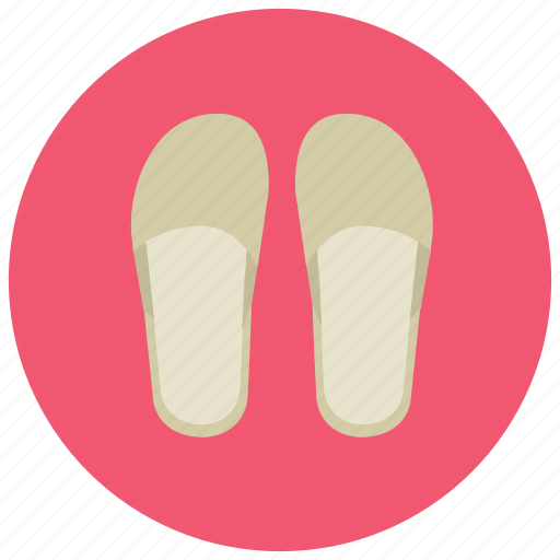 beauty, house shoes, scuff, shoes, slippers, spa, wellness icon
