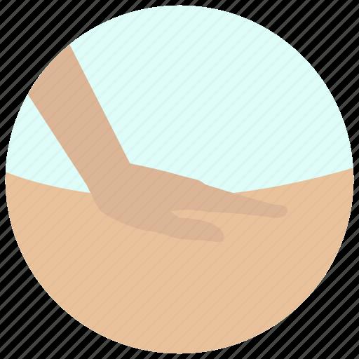 back massage, beauty, massage, rub, spa, treatment, wellness icon