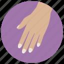 beauty, wellness, nails, fingers, hand, manicure, spa