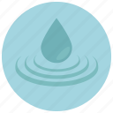 aqua, beauty, drop, spa, treatment, water, wellness icon