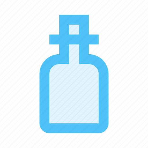 aroma, bottle, cosmetics, flask, perfume, scent, spa icon