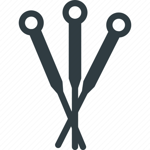 acupuncture, beauty, massage, needles, spa, treatment icon