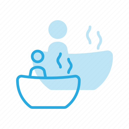 bath, beauty, hot, relax, relaxation, spa, tub icon