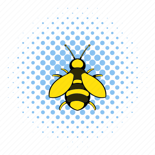 animal, bee, comics, fly, honey, insect, wing icon