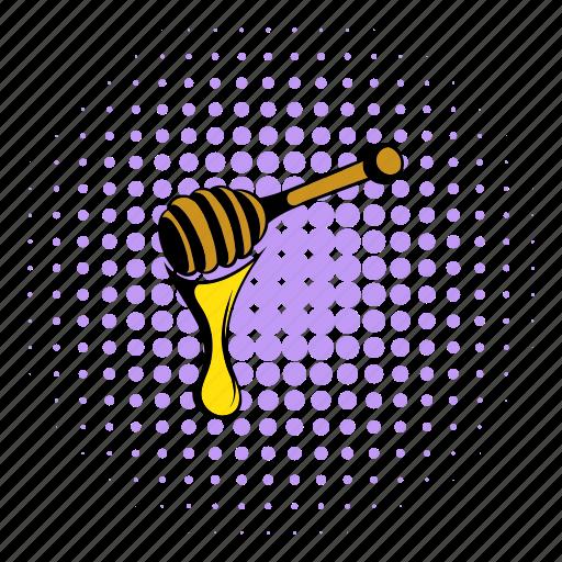 beehive, comics, food, healthy, honey, nature, wood icon