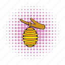 bee, beehive, comics, hive, honey, insect, sweet icon