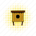 box, comics, hive, bee, beehive, wood, wooden icon