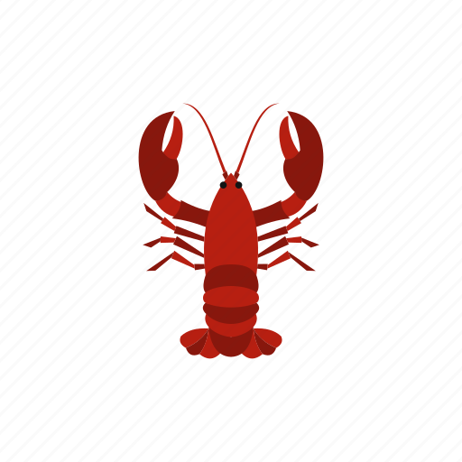 background, boiled, crawfish, dinner, food, gourmet, lobster icon