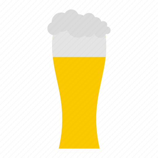 alcohol, beer, beverage, cold, drink, glass, pint icon