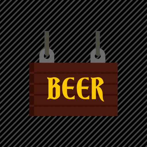 bar, beer, old, retro, signboard, street, vintage icon