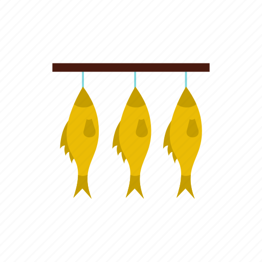 background, beer, fish, roach, rope, salty, stockfish icon