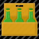 basket, beer, bottle