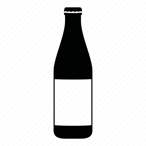 beer, bottle, cap, container, drink, hipster, label icon
