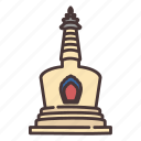 china, temple, pagoda, history