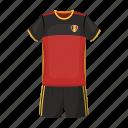 briefs, clothes, national, soccer, t-shirt, team, uniform