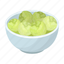 belgium, bowl, brussels, cabbage, food, national, vegetable icon