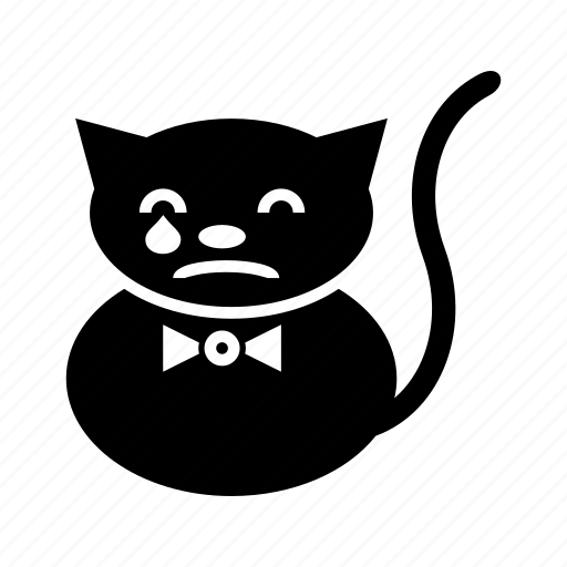 .svg, cats, cry, emoticons, funny, unique icon