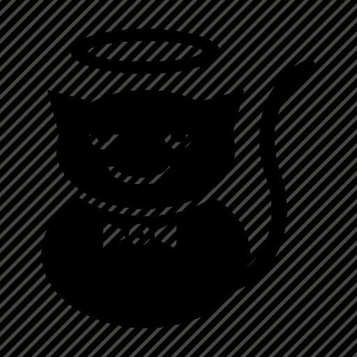 .svg, angel, cats, emoticons, funny, unique icon