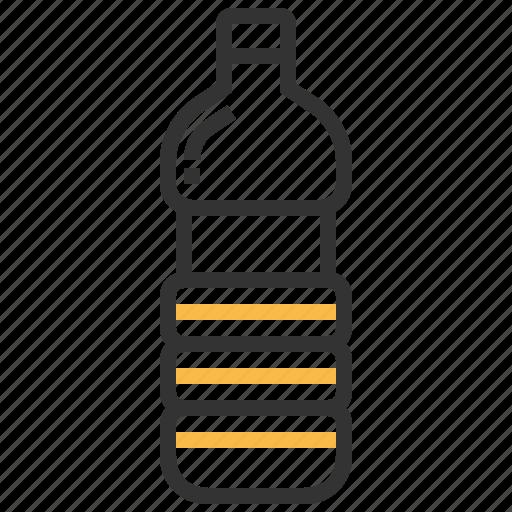 beverage, bottle, bottled, glass, liquid, water icon